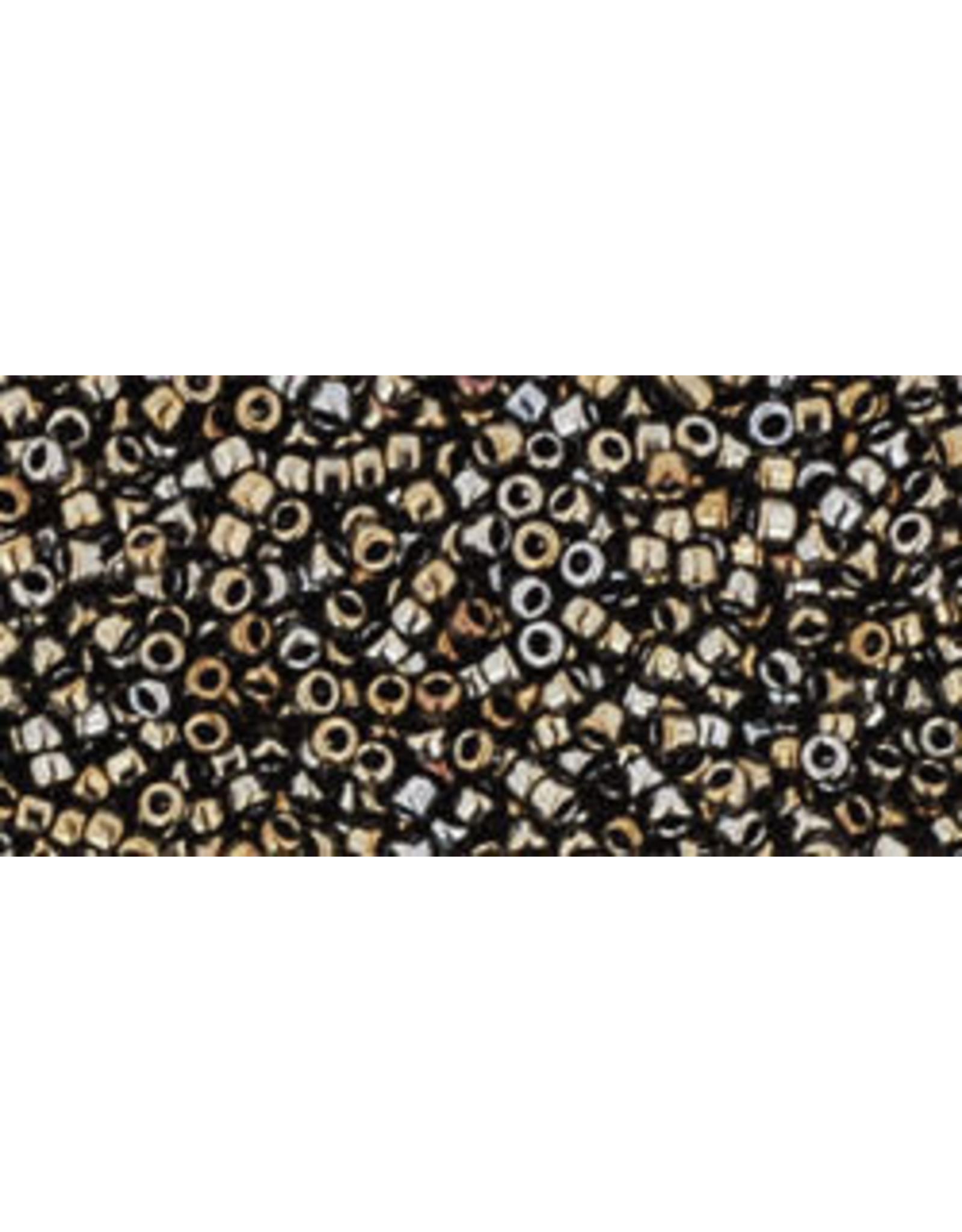 Toho 83 15  Seed 6g  Brown AB Metallic