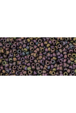 Toho 85f 15  Seed 6g Purple AB Metallic Matte