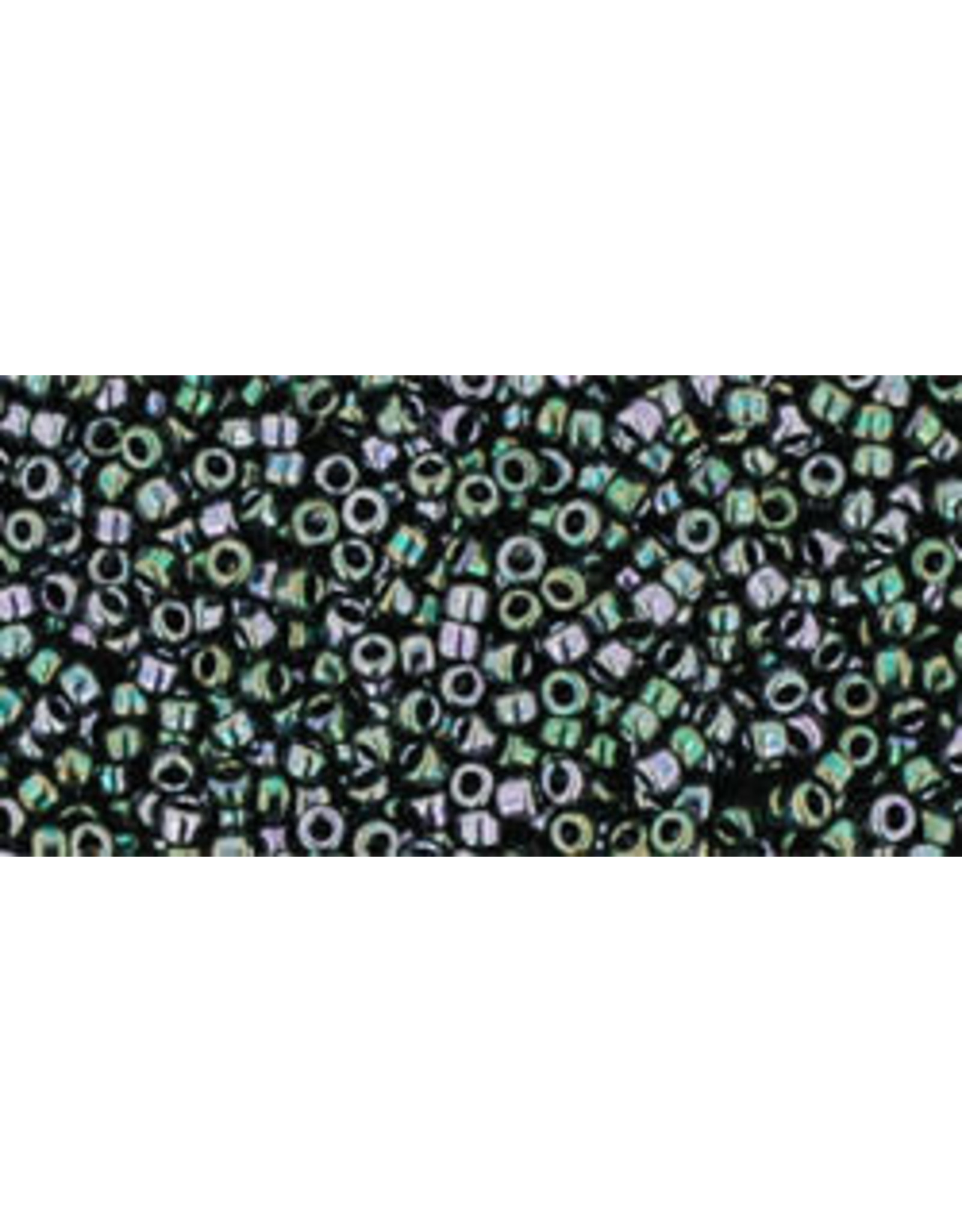 Toho 89 15  Seed 6g   Moss Green Metallic