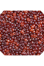 Czech 1603 10 Czech Seed 20g  Transparent Red Lustre Mix
