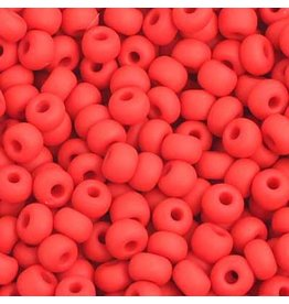Czech 401005 6   Seed 20g  Opaque Light Red Matte