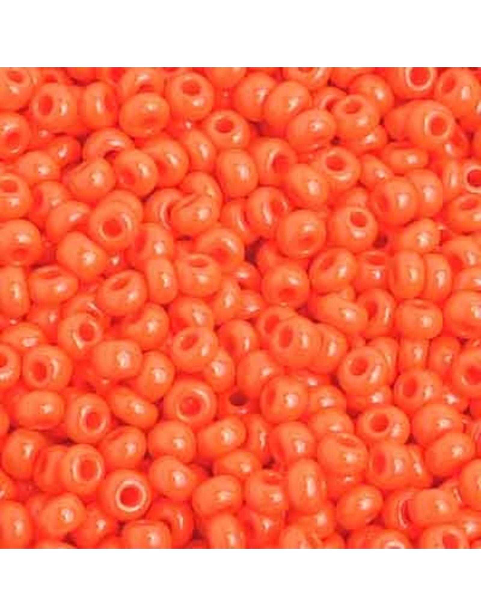 Czech 201582  8 Czech Seed 20g Opaque Orange