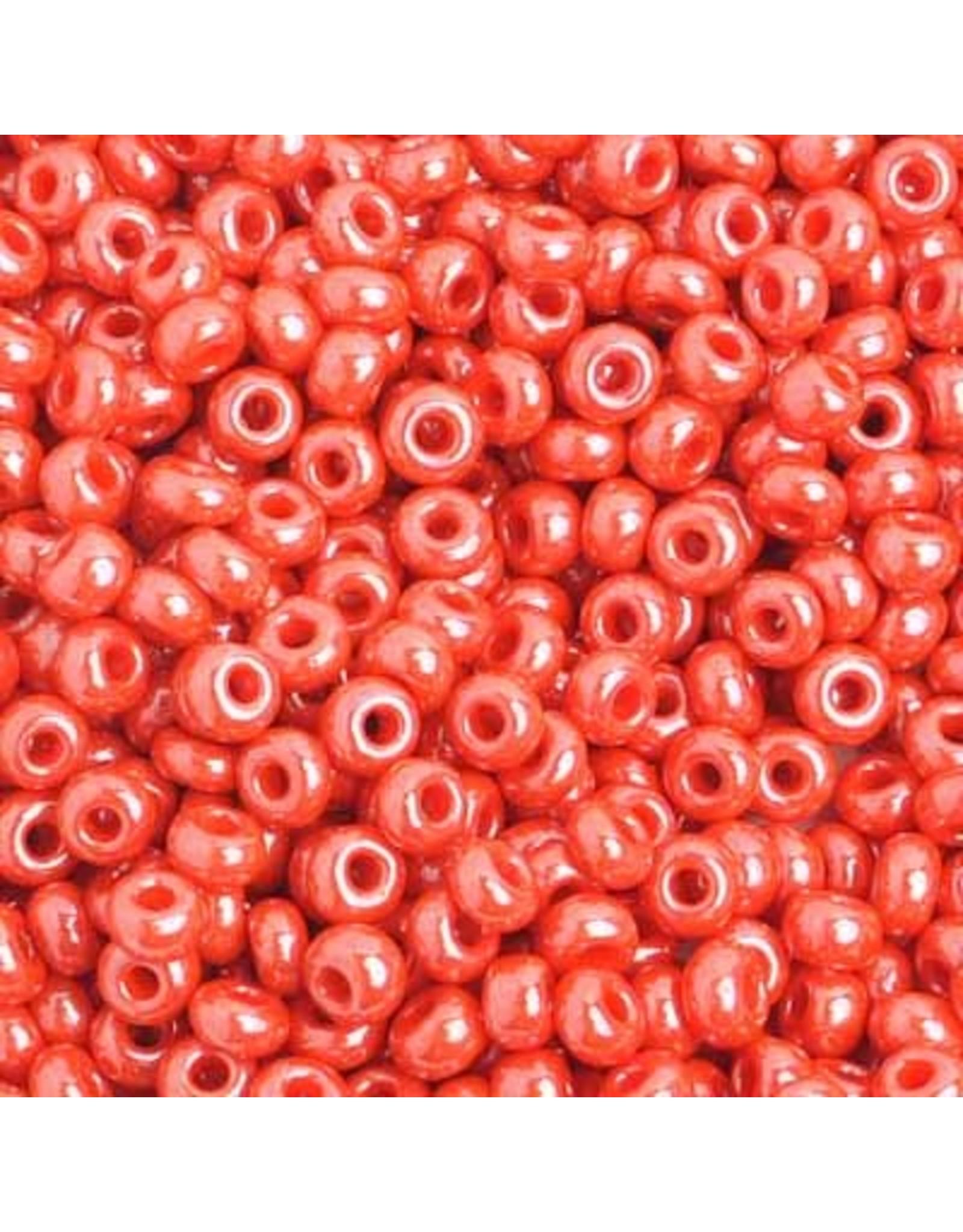 Czech 401918 6 Czech Seed 20g  Opaque Orange Lustre