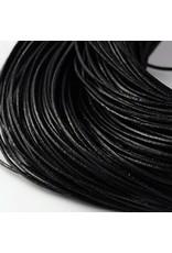 104sb 1.2mm Leather Black 10 meter
