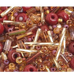 Czech 1001-02  10 Czech Seed 20g  Brown Mix