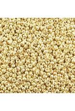 Czech *40026 10  Seed 10g  Light Gold Metallic s/g