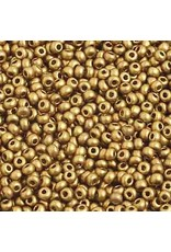 Czech 2212 10   Seed 20g Bronze Gold Matte Metallic