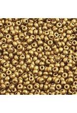 Czech 2212 10   Seed 20g Bronze Gold Matte Metallic