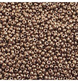 Czech *17582 10 Czech Seed 10g Bronze Brown Metallic