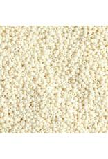 Czech 240040  8   Seed 20g  Opaque Bone Brown  s/g