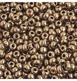 Czech *217583 8   Seed 10g  Bronze Metallic