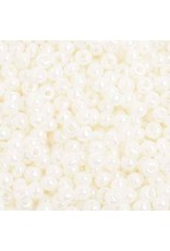 Czech 401712 6   Seed 20g  Ceylon Pearl Cream Ivory