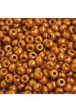 Czech 401908 6   Seed 20g  Opaque Light Brown Lustre