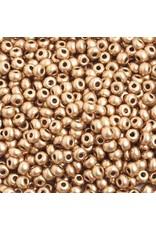 Czech 402218  6   Seed 20g  Gold Matte Metallic