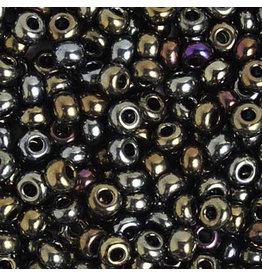 Czech 829249 2 Czech Seed 20g Opaque Brown AB Metallic