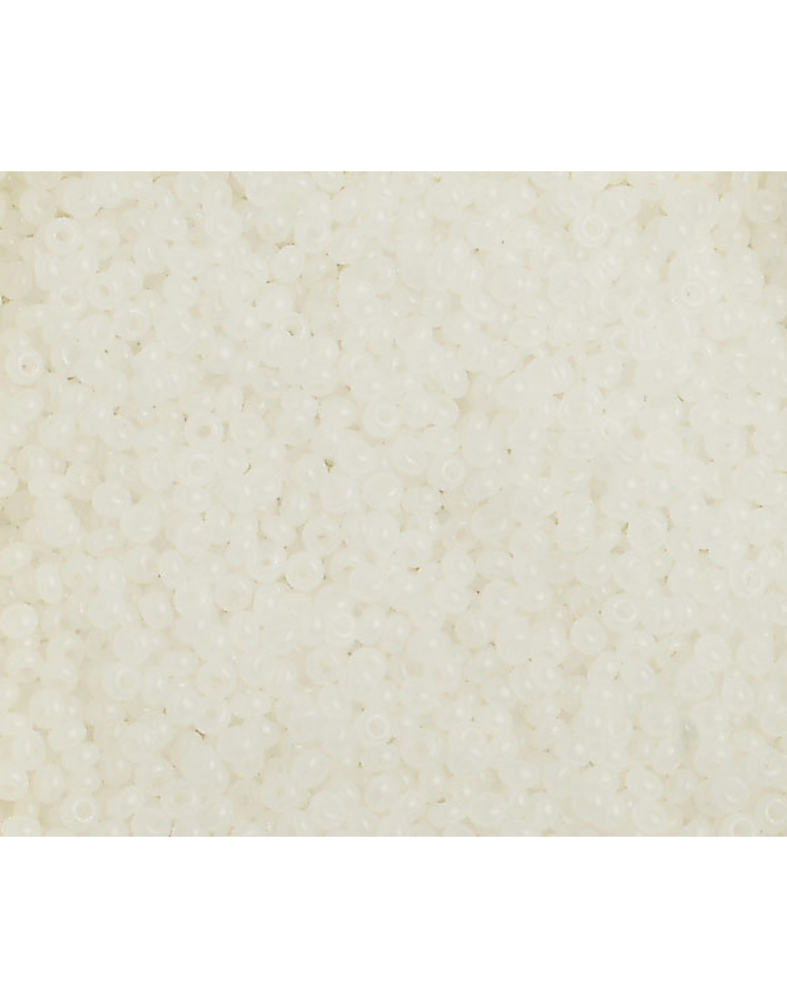 Czech 2344 10   Seed 20g  Alabaster White