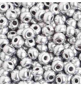 Czech 601016 4   Seed 20g  Silver Metallic