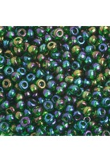 Czech 401662  6 Czech Seed 20g  Transparent Dark Green AB