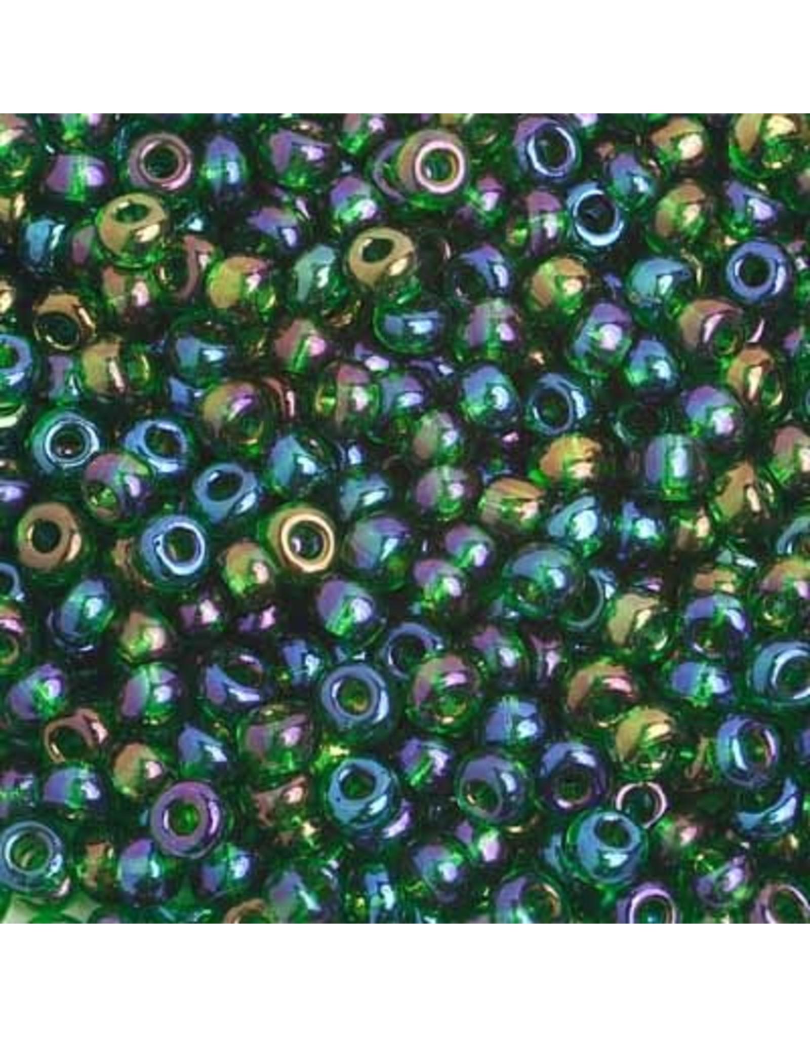 Czech 401662  6   Seed 20g  Transparent Dark Green AB