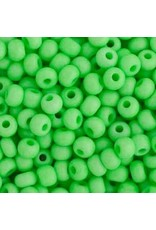 Czech 443100  6   Seed 20g  Opaque Neon Green Matte