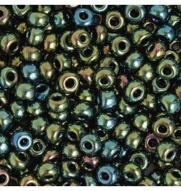 Czech 829248  2  Czech Seed 20g  Opaque Green AB