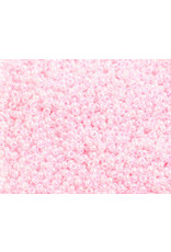 Czech 1435 10   Seed 20g Light Pink  Pearl Dyed
