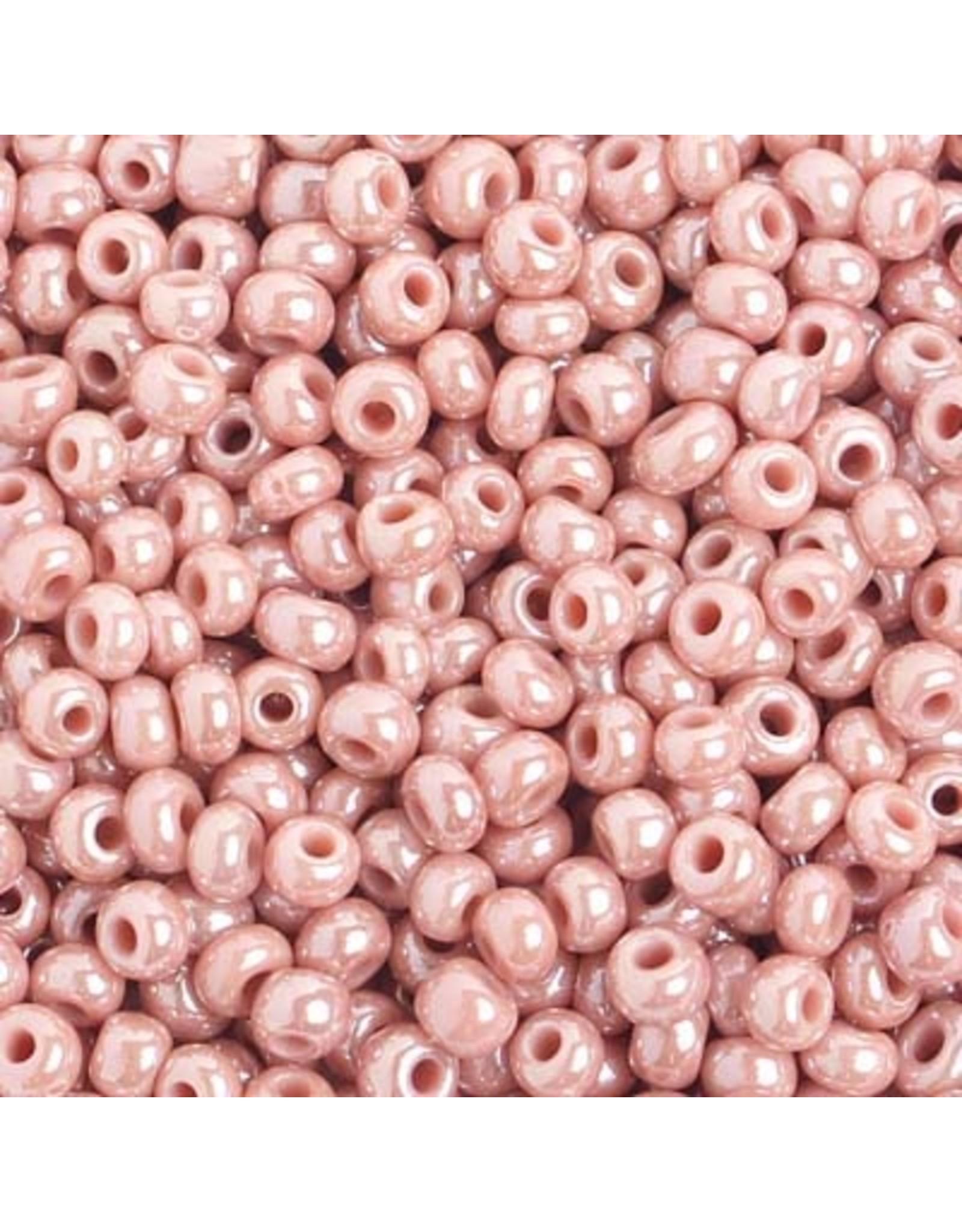 Czech 401010  6   Seed 20g  Opaque Pink Lustre