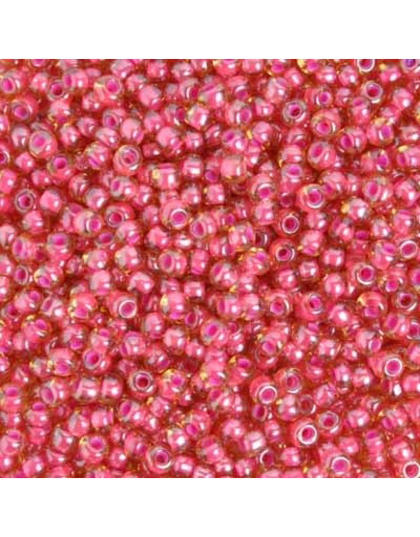 Czech 829405  2   Seed 20g  Topaz Brown Pink c/l