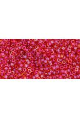 Toho 241 15  Seed 6g   Topaz Brown Red c/l