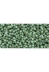 Toho pf589 Toho Round 6g  Jade Green Metallic