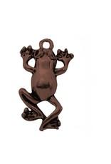 Frog  21x12mm  Antique Copper  x10  NF