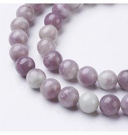 """Jade 8mm Lilac Purple 15"""" Strand  Approx  x46"""