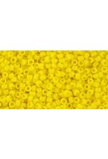Toho 42b 15  Seed 6g Opaque Sunshine Yellow