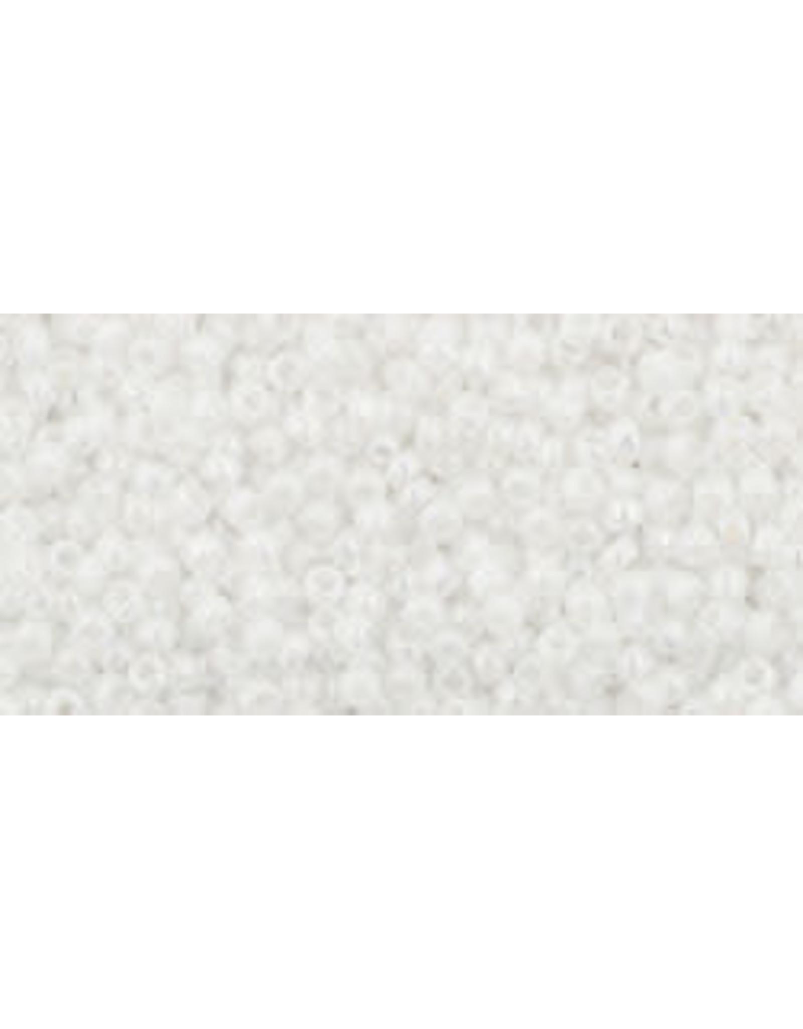 Toho 401  15  Seed 6g Opaque White AB