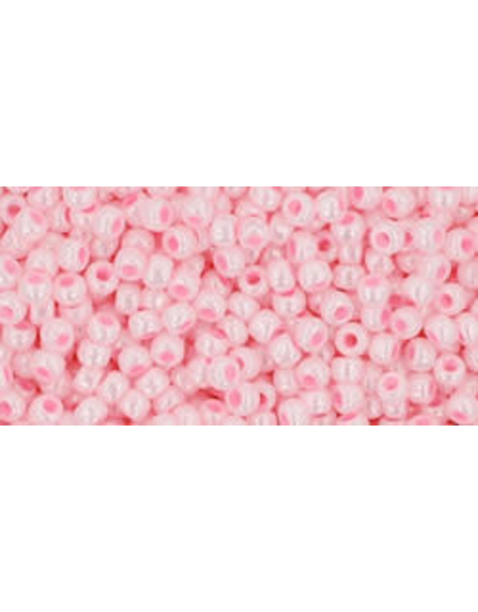 Toho 126 11  Round 6g Opaque Baby Pink Lustre