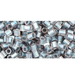 Toho 288 8  Hex 6g Clear Blue Metallic c/l