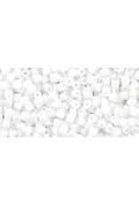 Toho 41 11  Hex 6g Opaque White