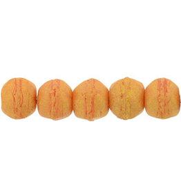 ps1004 3mm English Cut Tangerine Orange Pacifica x50