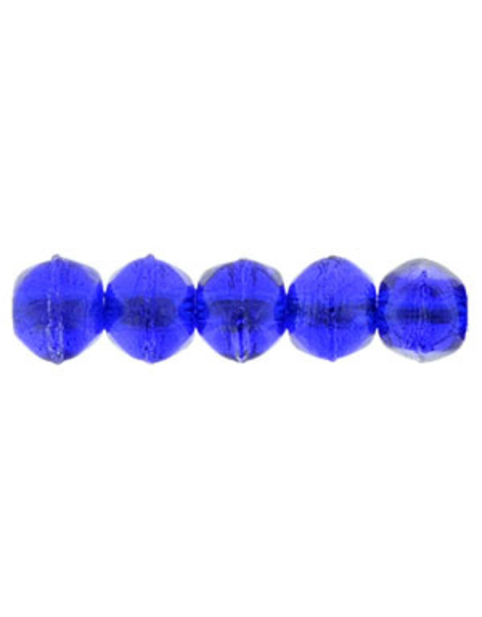 3009 3mm English Cut Cobalt Blue x50