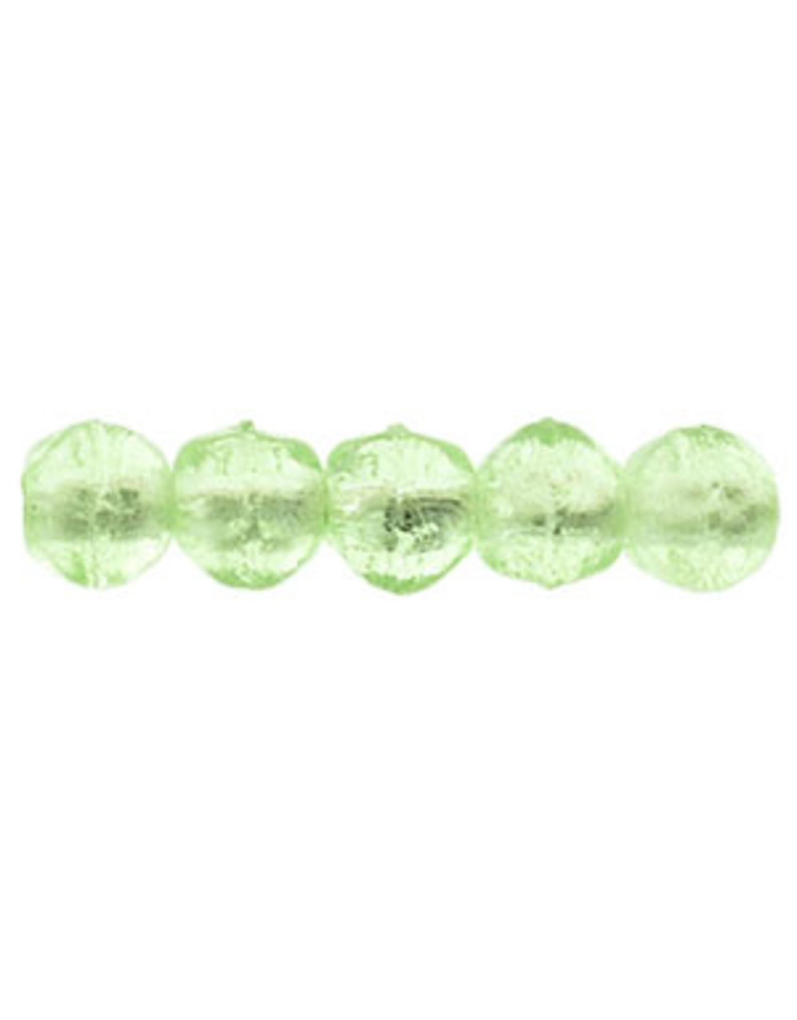 5050 3mm English Cut Peridot Green x50