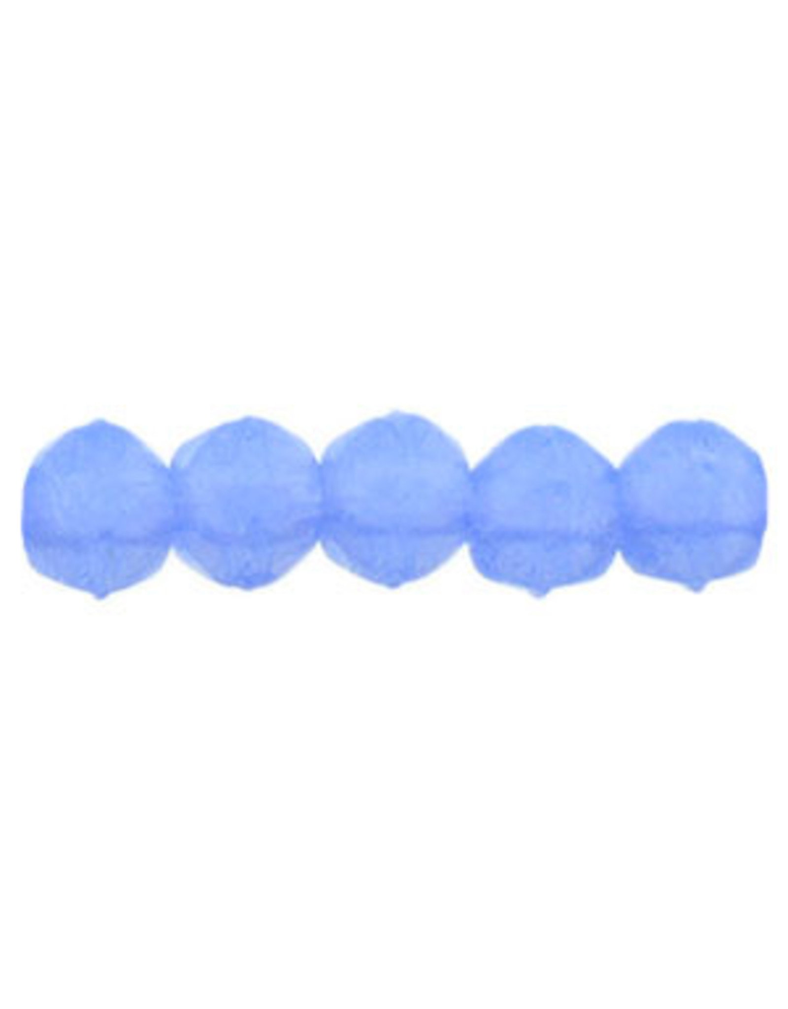 31010 3mm English Cut Milky Sapphire Blue  x50