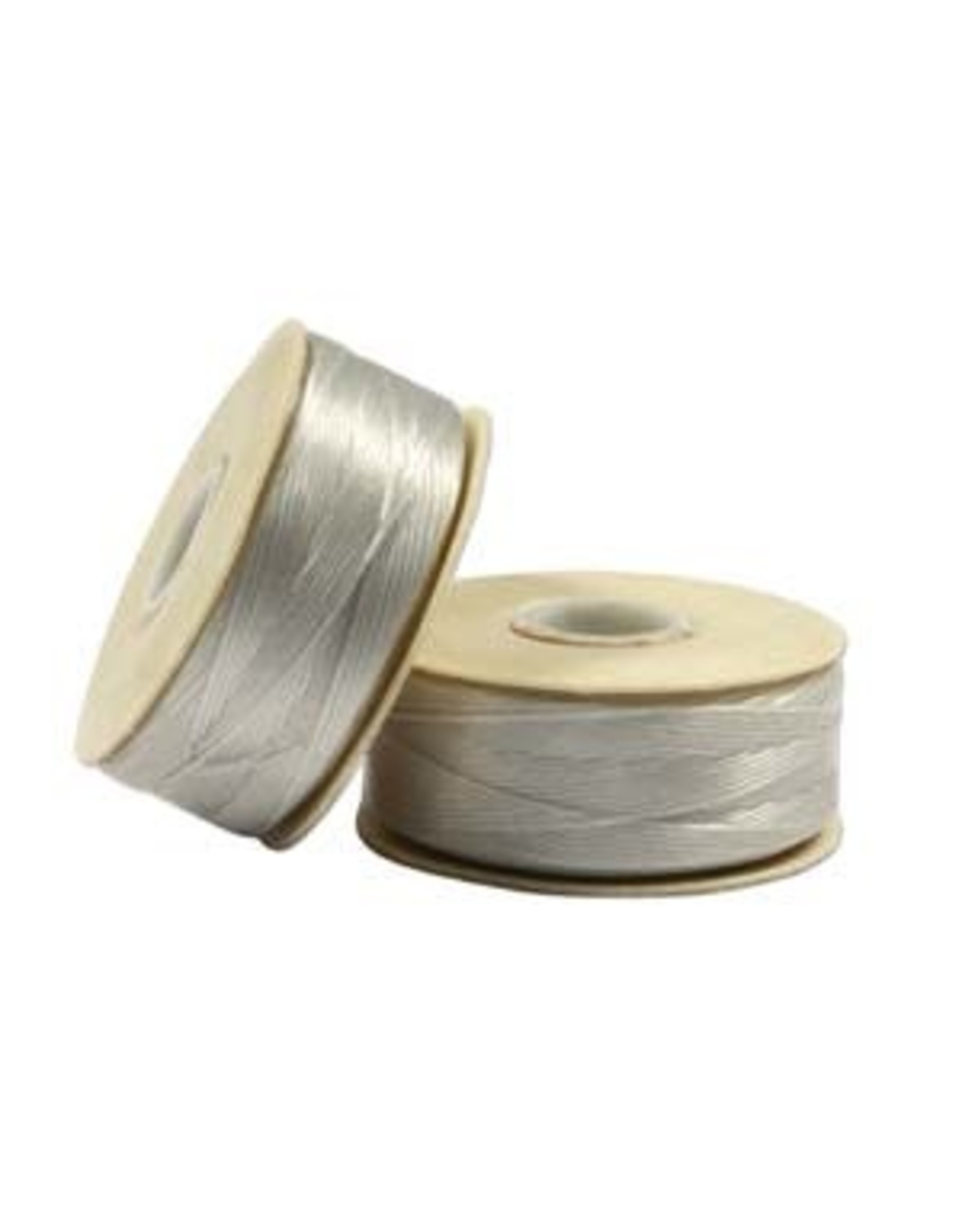 Nymo B'    Sterling Grey  Small Bobbin 66m
