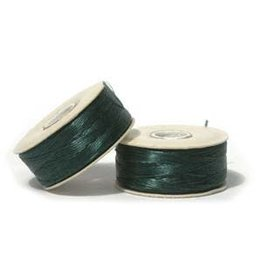 Nymo B'     Evergreen  Small Bobbin 66m