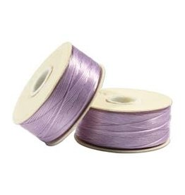 Nymo B'     Lilac Purple  Small Bobbin 66m