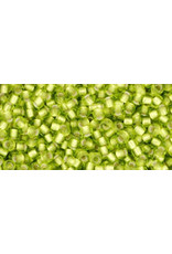 Toho 24fB 11  Round 40g Lime Green s/l Matte