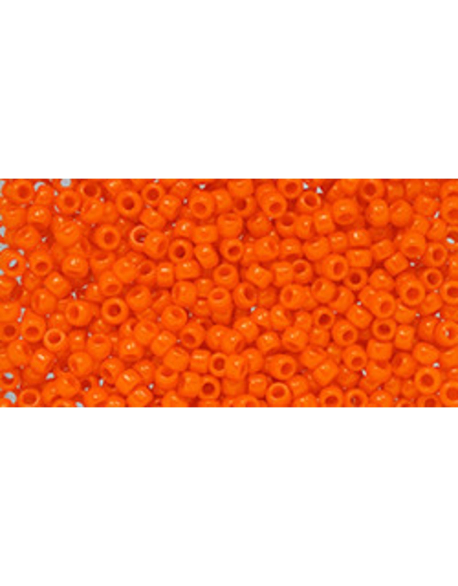 Toho 50aB 11  Round 40g Opaque Orange