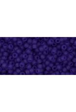 Toho 8fB 11  Round 40g Transparent Cobalt Blue Matte