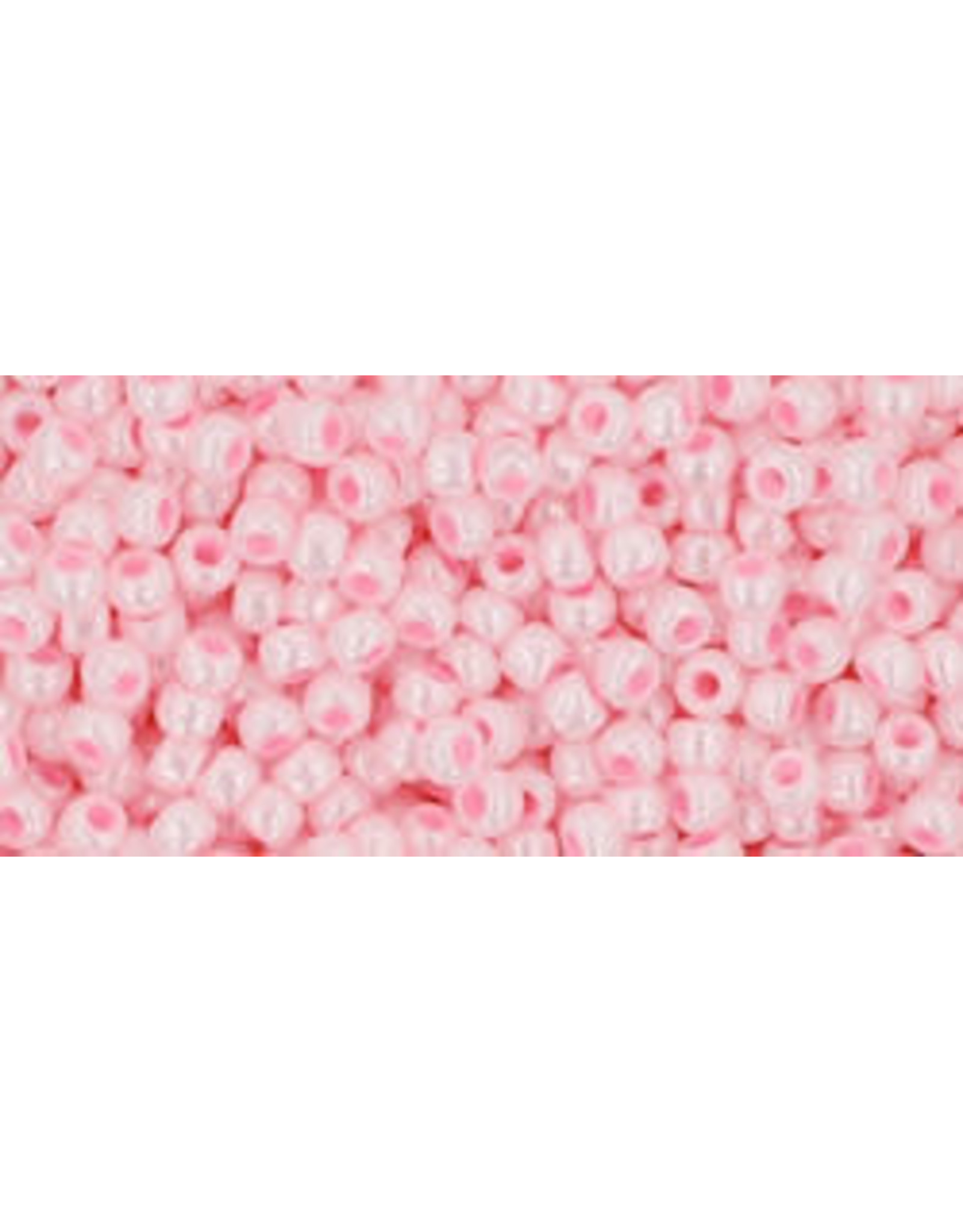 Toho 126B 11  Round 40g Opaque Baby Pink Lustre