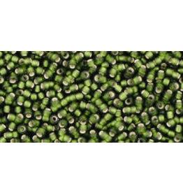 Toho 37fB 15  Round 20g  Olive Green s/l