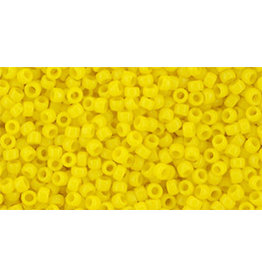 Toho 42bB 15  Round 20g  Opaque Yellow